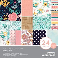 Kaisercraft paperikko Paisley Days