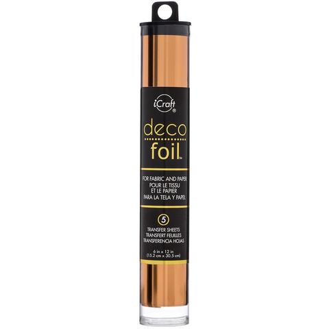 Deco Foil -folio, sävy Bronze