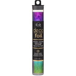 Deco Foil -folio, sävy Rainbow Shattered Glass