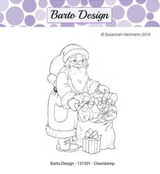 Barto Design leimasin Santa Claus