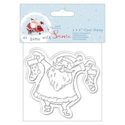 Papermania leimasin At Home with Santa