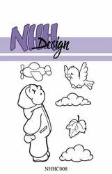 NHH Design leimasin Little Boy Looking in the sky