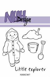 NHH Design leimasin Little Boy Exploring