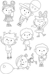Simple Stories leimasinsetti Say Cheese 4, Happy Kids
