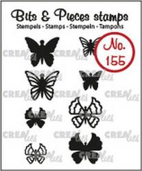 Crealies Bits & Pieces -leimasinsetti Mini Butterflies
