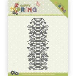 Precious Marieke Happy Spring stanssi Ribbon Border