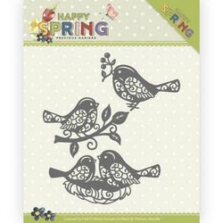 Precious Marieke Happy Spring stanssisetti Spring Birds