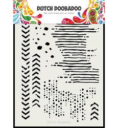 Dutch DooBaDoo Grunge Mix -sapluuna