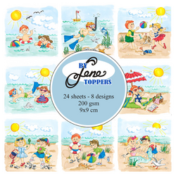 By Lene Toppers Summer Kids, korttikuvat
