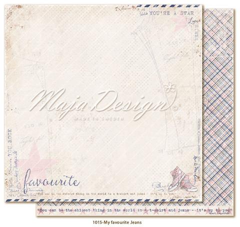 Maja Design Denim & Girls skräppipaperi Favourite Jeans