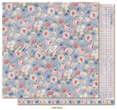 Maja Design Denim & Girls skräppipaperi Roses