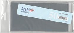CraftUK pussit korteille,pitkä DL, 50 kpl