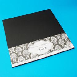 CraftUK Premium -kartonki, musta, 225 gsm, 20 arkkia, 12
