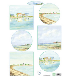 Marianne Design korttikuvat Tiny's Harbors