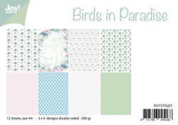 Joy! crafts NoorDesign paperipakkaus Birds in Paradise
