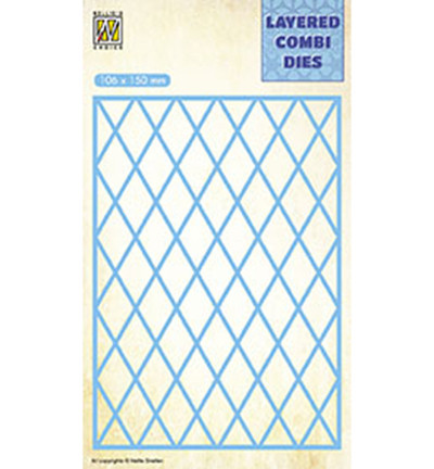 Nellie's Choice Layered Combi stanssi Lattice A