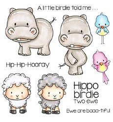 C.C.Designs leimasinsetti Hippo Birdie