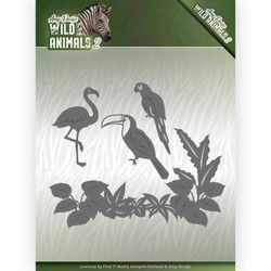 Amy Design Wild Animals 2 stanssisetti Tropical Birds