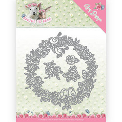 Amy Design Spring Is Here stanssisetti Circle of Roses