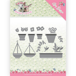 Amy Design Spring Is Here stanssisetti Flowerpots