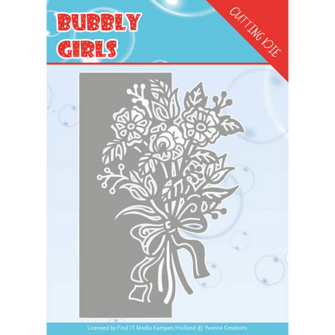 Yvonne Creations Bubbly Girls stanssi Bouquet
