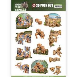 Amy Design Wild Animals 2 3D-kuvat Twins