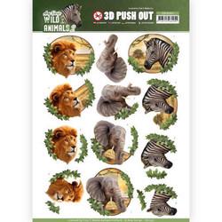 Amy Design Wild Animals 2 3D-kuvat Africa