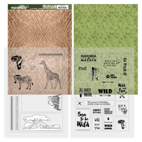 Amy Design Wild Animals 2 paperipakkaus