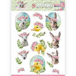 Amy Design Spring is Here 3D-kuvat Baby Animals