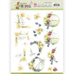 Precious Marieke Happy Spring 3D-kuvat Happy Daffodils