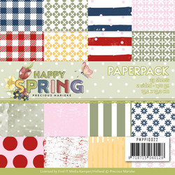 Precious Marieke paperipakkaus Happy Spring
