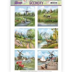 Amy Design Spring Landscapes korttikuvat Spring Landscapes 1