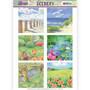 Jeanines Art Spring Landscapes korttikuvat Spring Landscapes 1