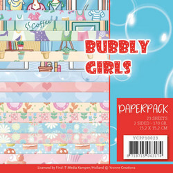 Yvonne Creations paperipakkaus Bubbly Girls