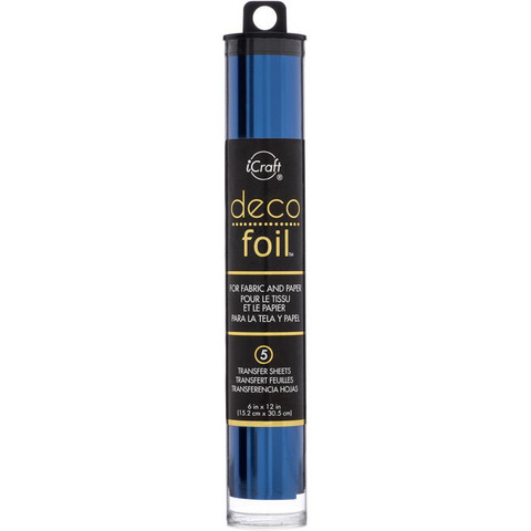 Deco Foil -folio, sävy Deep Blue