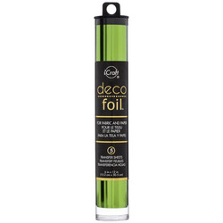Deco Foil -folio, sävy Spring Green