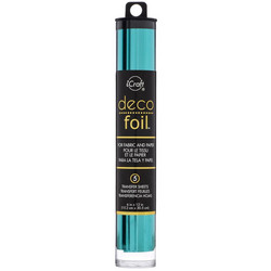 Deco Foil -folio, sävy Aqua