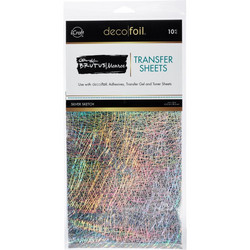Deco Foil Brutus Monroe -folio, sävy Silver Sketch