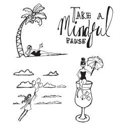 Jane Davenport leimasinsetti Mindful Pause