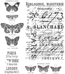 Stampers Anonymous, Tim Holtz leimasinsetti Papillon
