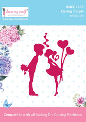 Dress My Craft stanssi Kissing Couple
