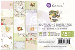 Prima Fruit Paradise Journaling Cards,  4