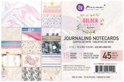 Prima Golden Coast Journaling Cards,  4