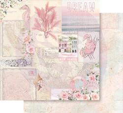 Prima Golden Coast -skräppipaperi California Dreaming