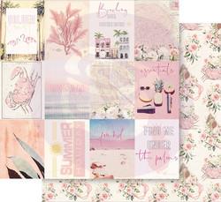 Prima Golden Coast -skräppipaperi Under The Palms