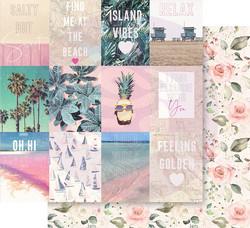 Prima Golden Coast -skräppipaperi Summer Feeling