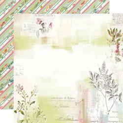 Simple Stories Simple Vintage Botanicals skräppipaperi Love & Sunshine