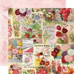Simple Stories Simple Vintage Botanicals skräppipaperi Scatter Kindness