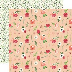 Carta Bella Botanical Garden skräppipaperi Poppy Bundle