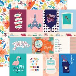 Carta Bella Let's Travel skräppipaperi 3